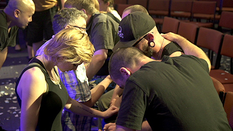 Response and prayer after NLM concert